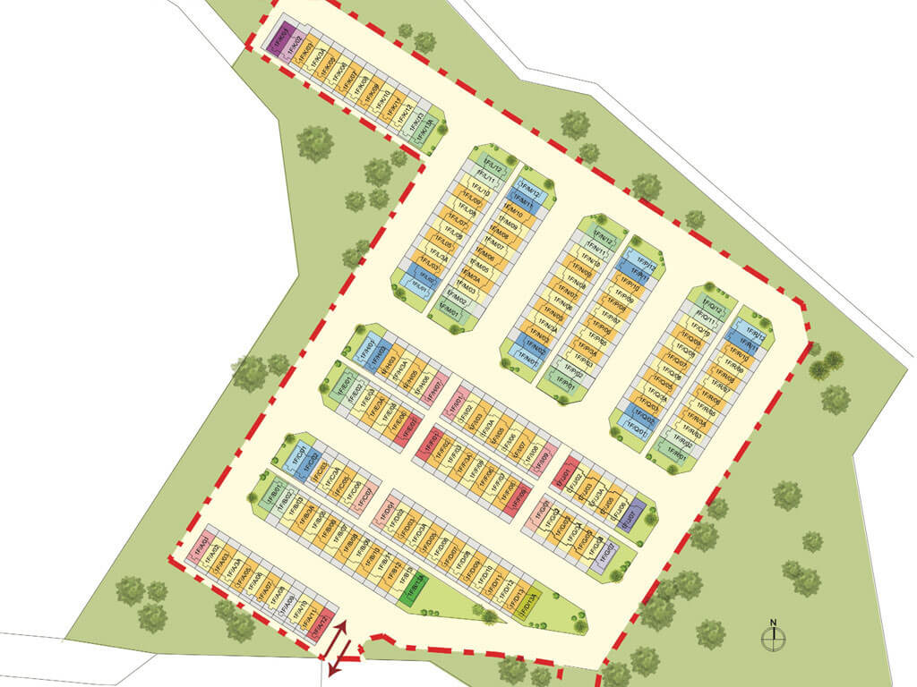 D'laman Kundang Site Plan